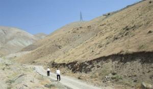 حریم شرقی زمین - اراضی کوهستانی