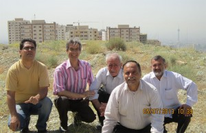 چشم انداز رو به تهران - بر فراز نخاله ها